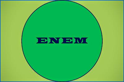 A. imagem diz ENEM :Exame Nacional do Ensino Medio.