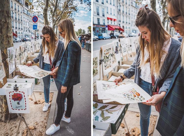 Les bouquinistes de Paris sur les quais de Seine