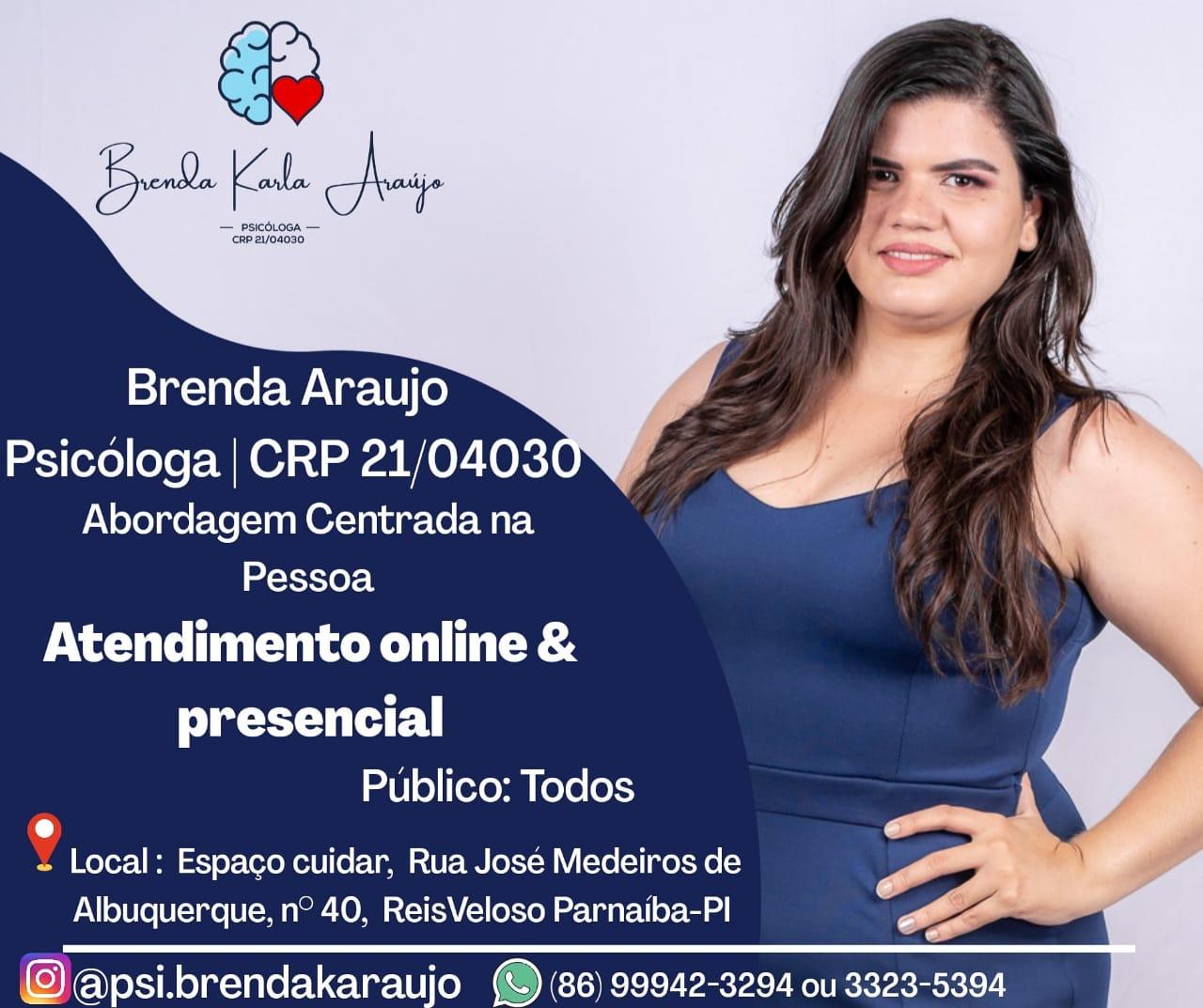 Brenda Araujo - Psicóloga