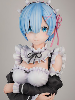 Busto de Rem de Re:Zero a escala real