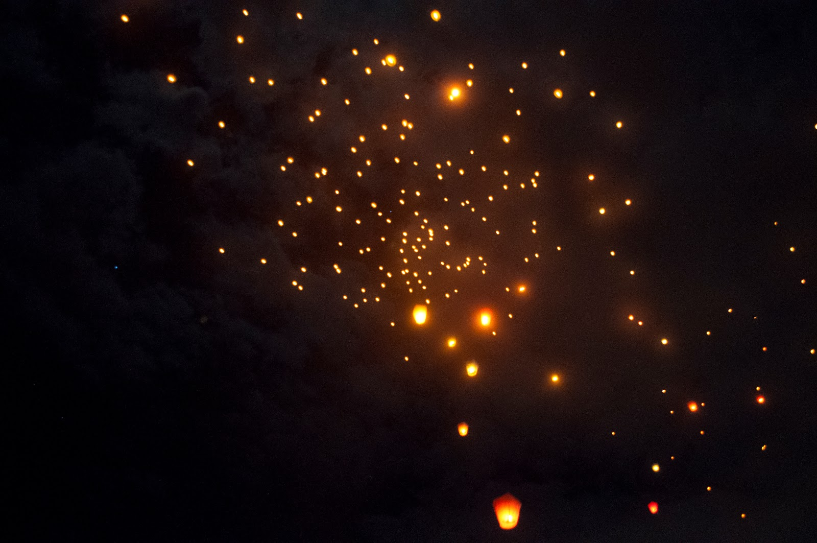 Words I Lived Pingxi Sky Lantern Festival