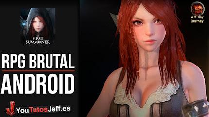 Impresionante RPG Android, Descargar First Summoner Gratis