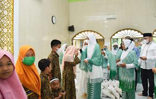Bupati Zahir Berikan Apresiasi Pengurus  Muslimat Al Washliyah Batu Bara
