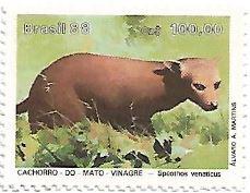 Selo Cachorro-do-mato-vinagre