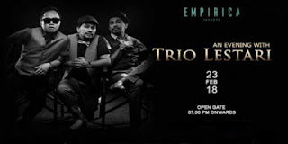 Cari tiket event an evening with trio lestari di empirica jakarta