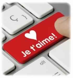 Mots d'amour romantique pour elle