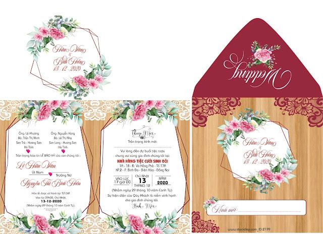 file thiệp cưới đẹp