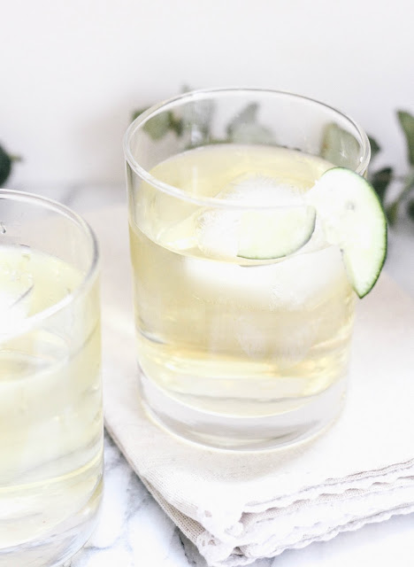 Fresh Cucumber Apple Cocktail