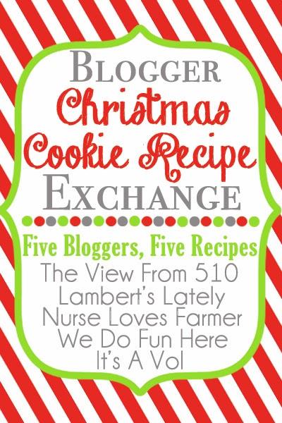 Blogger Christmas Cookie #Recipe Exchange