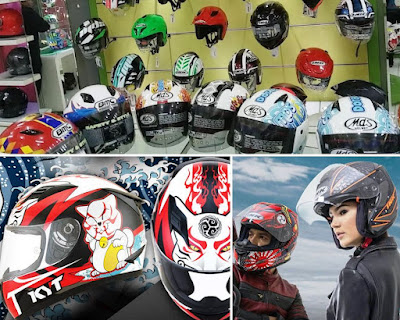 toko helm Surabaya