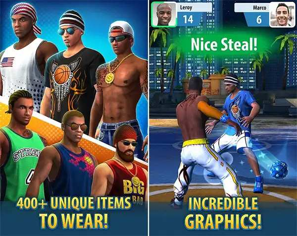 Basketball stars mod apk features