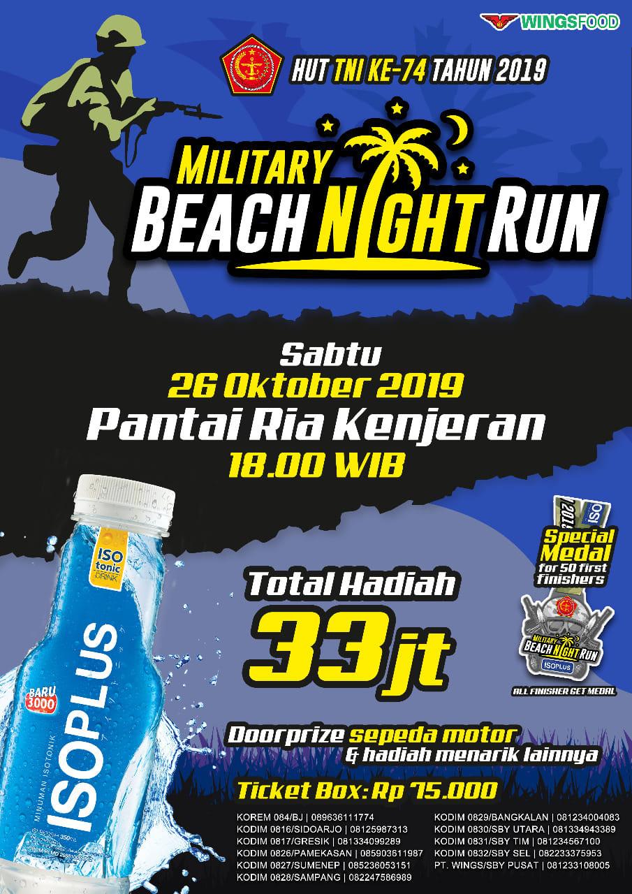 Military Beach Night Run • 2019