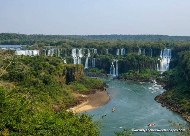 Iguacu National Park walking trail