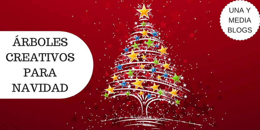Creativos rboles para navidad felicesfiestas una - Arboles de navidad creativos ...
