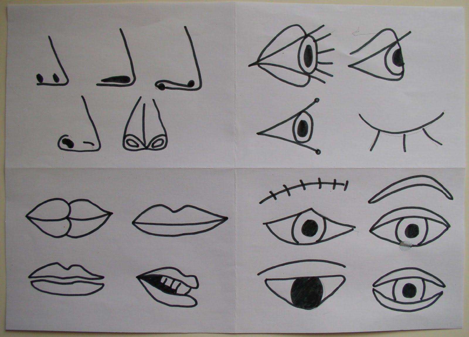 It is a picture of Invaluable Picasso Face Drawing