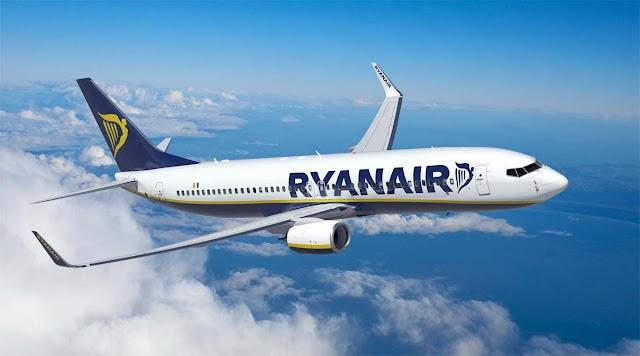 Ryanair basa il quarto aeromobile all'aeroporto di Napoli