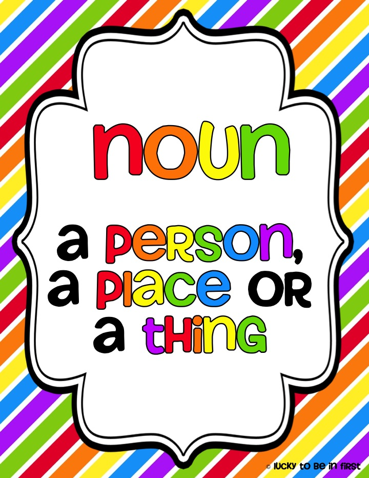 Just a simple noun sort to help your students with identifying nouns as  either a person, place, or thing :)   Nouns kindergarten, Nouns, Nouns and  verbs