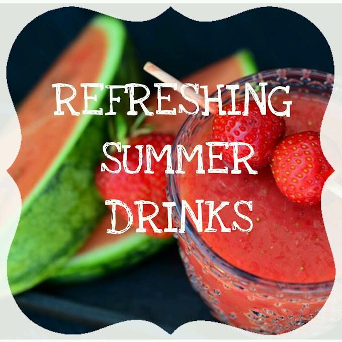 Refreshing Summer drinks (fruits)