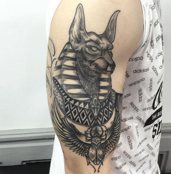 110 Egyptian Anubis Tattoos Designs And Ideas 2019 Tattoosboygirl