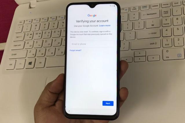 Cara Hapus FRP / Akun Google Verifikasi Samsung M20 SM-M205F Via Remote Teamviewer