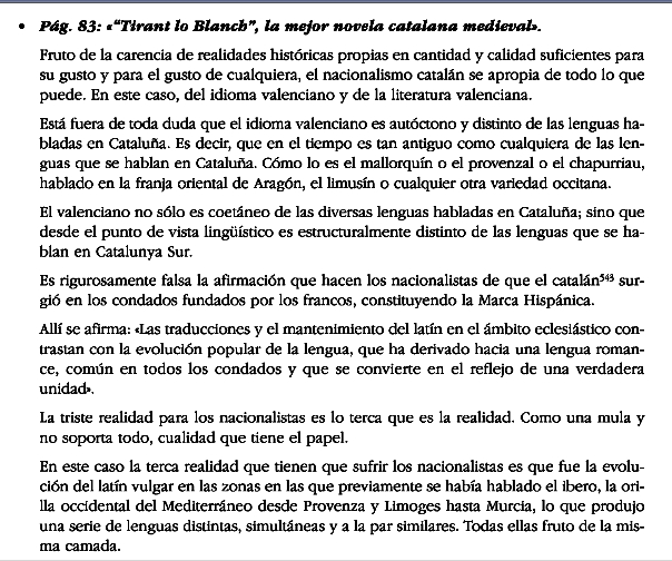 Tirant lo Blanch, idioma valenciano, literatura valenciana, chapurriau
