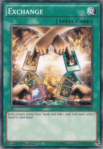 Ada Exodia di kartu Exchange