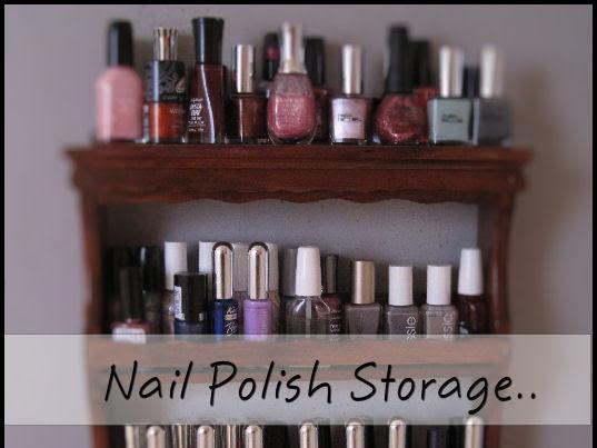 Nail polish storage..