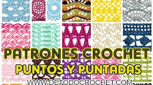 30 Patrones de Puntos y Puntadas Caladas Crochet