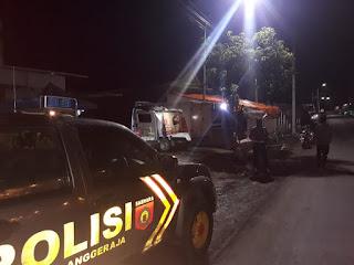 Personel Polsek Anggeraja Intensifkan Patroli Antisipasi Kriminalitas