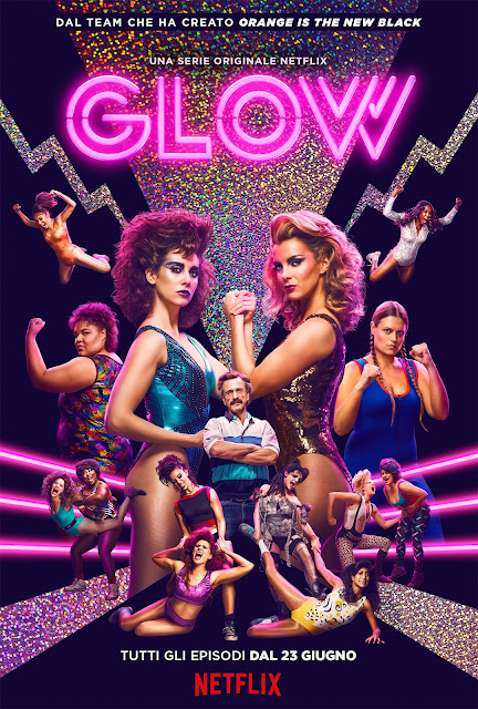 GLOW Stagione 1 Netflix poster cover