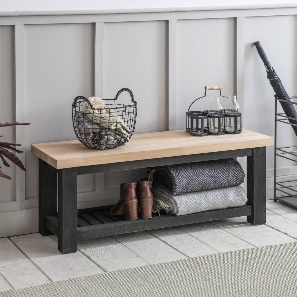 Pomysł na ławkę do mieszkania