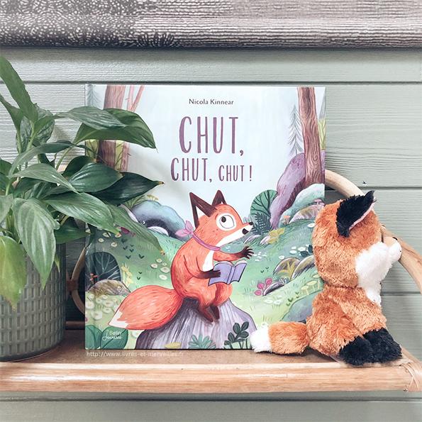Album jeunesse : Chut, chut, chut !