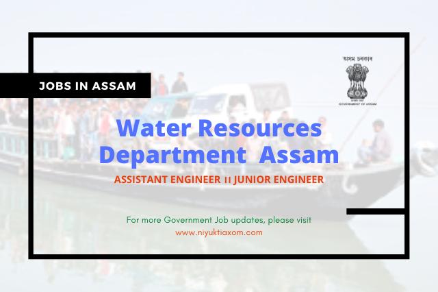 Water Resources Department Assam Recruitment 2021