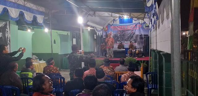 Peringati HUT TNI Ke-74 Koramil Karangnongko Gelar Tasyakuran