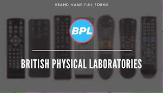Icon BPL- British Physical Laboratories logo