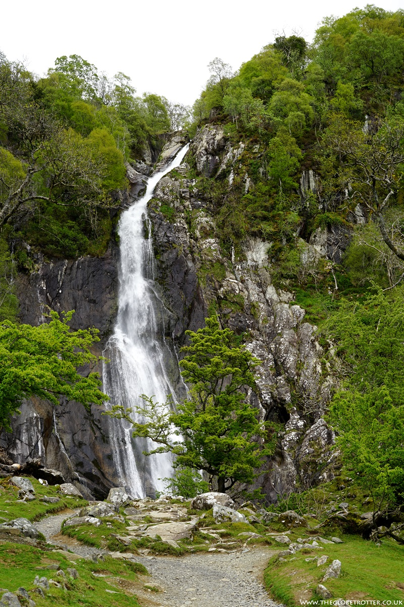 The Aber Falls in North Wales