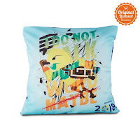 Alfacart Asian Games 2018 Pillow Case Bhin-Bhin Kawai ANDHIMIND