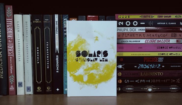 Imagem do livro Solaris