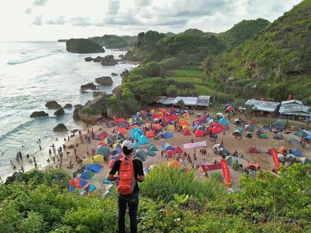 Pantai Ngrumput Jogja
