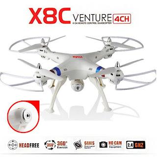 Spesifikasi Drone Syma X8C Venture - GudangDrone