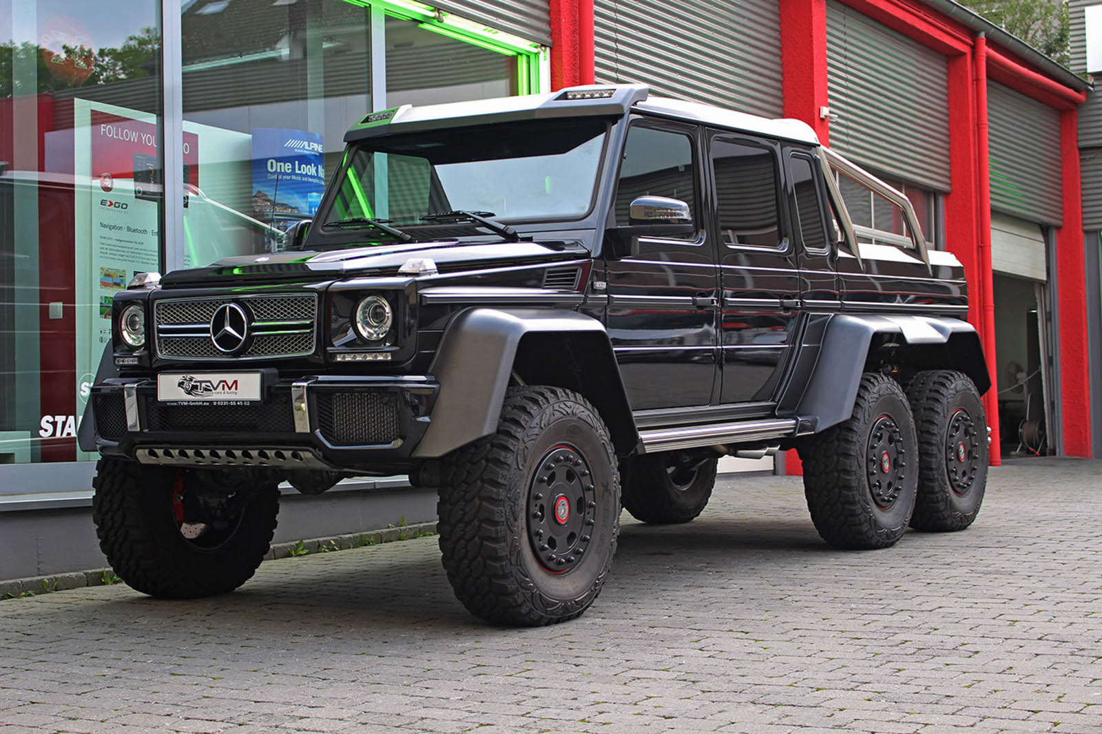 Missed Your Chance To Buy A Mercedes G63 6x6? You Can ...