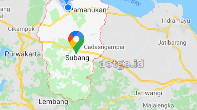 Kecamatan di Subang Daftar Kecamatan di Wilayah Kabupaten Subang Jawa Barat