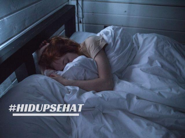 Tidur yang cukup dan teratur