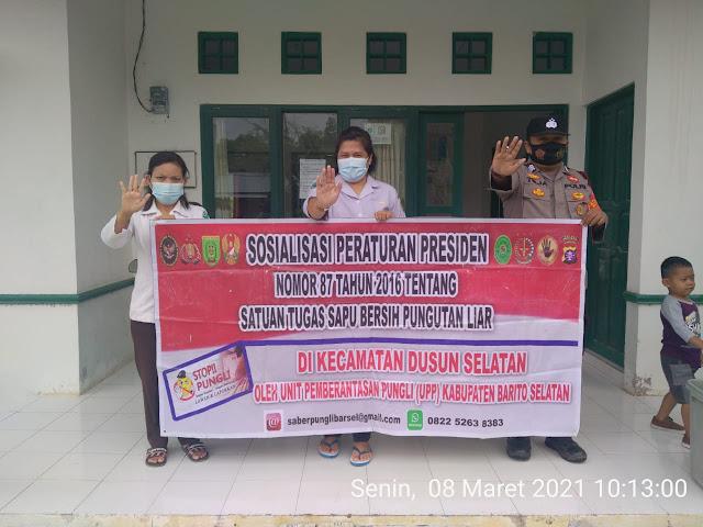 Cegah Praktik Pungli, Brigpol Teja Gencar Laksanakan Sosialisasi Perpres No 87