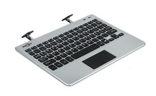 BATTOP Slim Wireless Bluetooth Keyboard