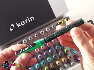 brushmarkers pro karin markers