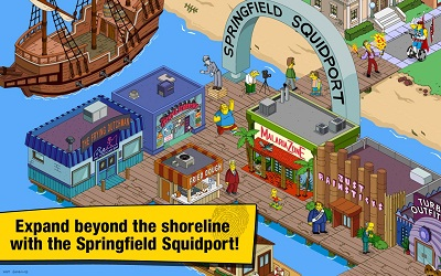 The Simpsons: Tapped Out mod apk