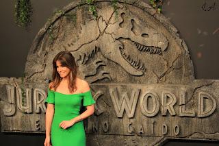 Isabel Jimenez Premiere Jurassic World