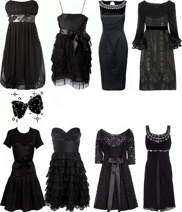 صور أزياء باللون الأسود