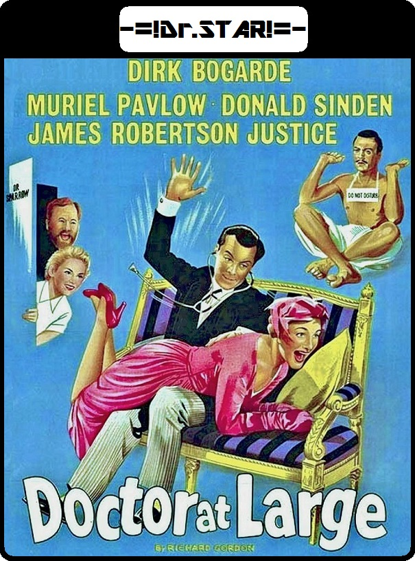 Doctor at Large 1957 300MB DVDRip Dual Audio
